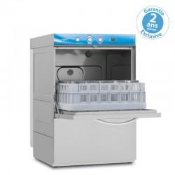 Elettrobar - Lave-verres avec affichage digital et adoucisseur + pompe de vidange- Panier 390 x 390 mm - FAST139APVDG
