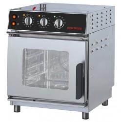 Inoxtrend - Four mixte à injection - 4 niveaux GN 1/1 - Commandes électromécaniques - XT SIMPLY - PKDA104E