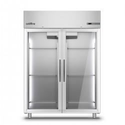Coldline - Armoire réfrigérée positive MASTER - Groupe logé - 2 portes vitrées - 1200 L - A1202MV-2