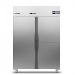 Coldline - Armoire réfrigérée positive MASTER GN 2/1 - Groupe logé - 1 porte + 2 portillons - 1400 L - A1403M-2