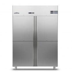 Coldline - Armoire réfrigérée négative MASTER GN 2/1 - Groupe logé - 4 portillons - 1400 L - A1404B-2