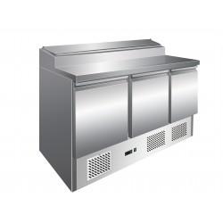 Furnotel - Table de préparartion réfrigérée GN 1/1 - 3 portes - 392 litres - PS301X