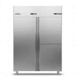 Coldline - Armoire réfrigérée positive avec 2 groupes frigorifiques MASTER GN 2/1 - 1 porte + 2 portillons - 1400 L - A1403MML-2