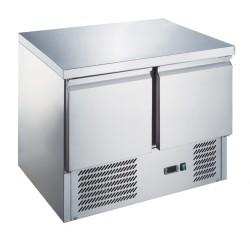 Furnotel - Table réfrigérée positive GN 1/1- 2 portes - 240 litres - MT9011X