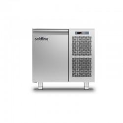 Coldline - Table réfrigérée positive MASTER sans plan de travail - Groupe logé - 1 porte - 98 litres - TS091MQ-2