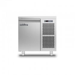 Coldline - Table réfrigérée positive MASTER avec plan de travail - Groupe logé - 1 porte - 98 litres - TP091MQ-2