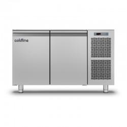 Coldline - Table réfrigérée positive MASTER sans plan de travail - Groupe logé - 2 portes - 229 litres - TS131MQ-2