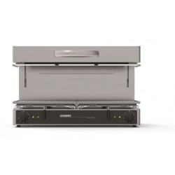 Furnotel - Salamandre électrique à plafond mobile - Surface utile 800 x 350 mm - Série SE - SE800CB