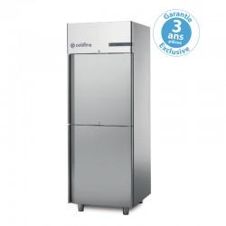 Coldline - Armoire réfrigérée à double température MASTER GN2/1 - 2 portillons - 700 L