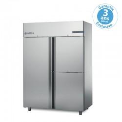 Coldline - Armoire réfrigérée à double température MASTER GN2/1 - 1 porte + 2 portillons - 1400 L