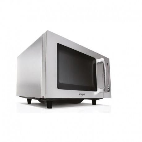 Whirlpool - Micro-ondes professionnel sans plateau tournant - 25 litres - 1550 W - PRO25IX