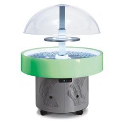Furnotel - Buffet réfrigéré central rond - ISOLA - Température +3°C +10°C - ISOLALEDP-RGB