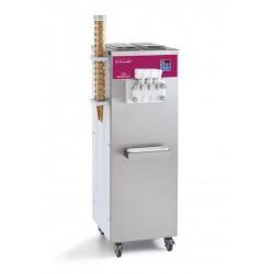 Furnotel - Machine SOFT - Série SOFTGEL - 3 Becs - 3 Parfums - Alimentation par pompe - Machine verticale - SOFT400P