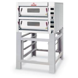Italforni - Four à pizza - Série TK - 2 chambres - 8 pizzas - Commandes digitales - TK2AD
