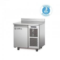 Coldline - Table réfrigérée positive MASTER - Groupe logé - 1 porte - 125 litres