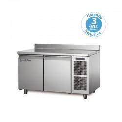 Coldline - Table réfrigérée positive MASTER - Groupe logé - 2 portes - 223 litres