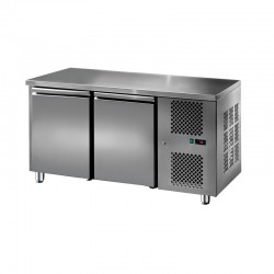 Furnotel - Table réfrigérée inox positive - 2 portes - 206 litres - GN2101T