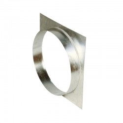 Platine virole diamètre 355 mm - non montée - V355