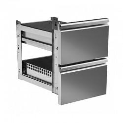 2 tiroirs à la place d'une porte - ABRK2T
