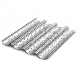 Tecnoinox - Plaque aluminium 600 x 400 pour baguette - PLQA64B