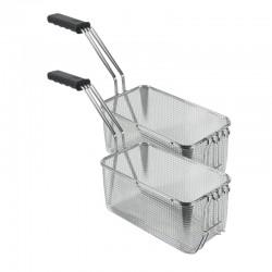 Tecnoinox - Kit 2 paniers 1/2 friteuse 21 litres - 399580