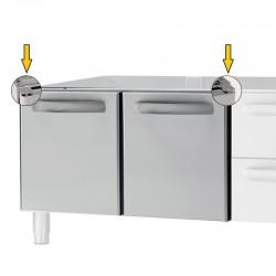 Tecnoinox - Porte (droite ou gauche) pour placard - 619009