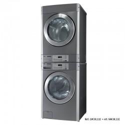 LG - Sèche-linge professionnel électrique - 11 kg pour installation en colonne - SHCOL11E