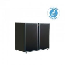 Unifrigor - Arrière-bar - Série CLASSIC - Sans groupe - 2 moyennes portes pleines - 260 litres