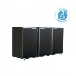 Unifrigor - Arrière-bar - Série CLASSIC - Sans groupe - 3 moyennes portes pleines - 436 litres