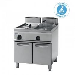 Tecnoinox - Friteuse sur coffre électrique - 2 x 13 litres - Gamme 900 - FR83FE9