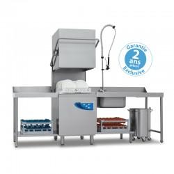 Elettrobar - Lave-vaisselle à capot - Panier 500 x 500 mm - PLUVIA 280