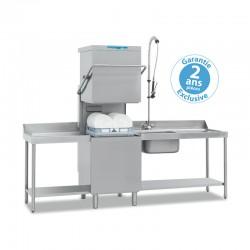 Elettrobar - Lave-vaisselle à capot - Panier 500 x 500 mm - NIAG281