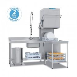 Elettrobar - Lave-vaisselle à capot - Panier 500 x 500 mm - NIAG283