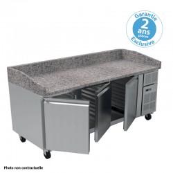Furnotel - Table à pizza réfrigérée - 427 litres - PZ2600