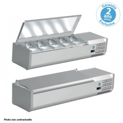 Furnotel - Vitrine réfrigérée pour bacs GN 1/3 - 150 W - VRC12GN13