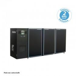 Unifrigor - Arrière-bar - Série CLASSIC - Groupe logé - 3 petites portes pleines - 390 litres
