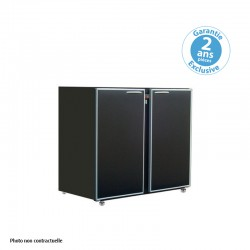 Unifrigor - Arrière-bar - Série CLASSIC - Sans groupe - 2 larges portes pleines - 323 litres