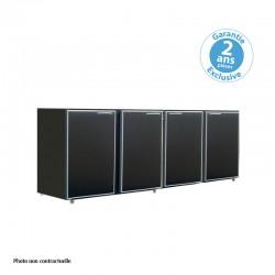Unifrigor - Arrière-bar - Série CLASSIC - Sans groupe - 4 larges portes pleines - 722 litres