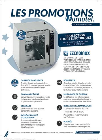 Promotion Fours mixtes à injection directe - TECNOINOX