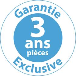 Garantie 3 ans pièces