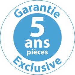 Garantie 5 ans pièces