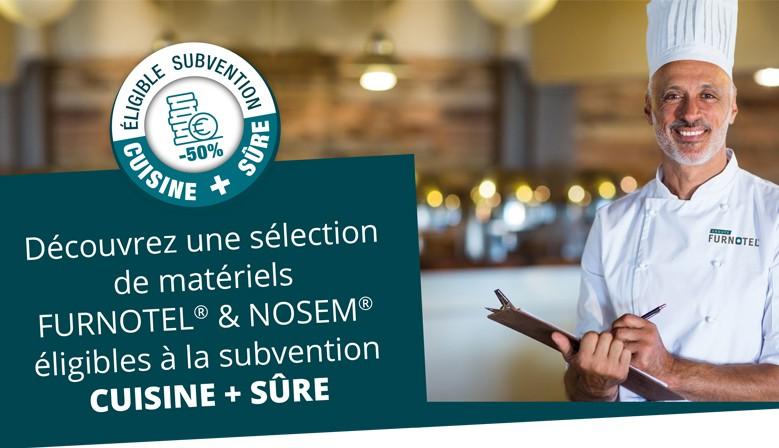 Subvention Cuisine + sûre